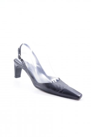 Oxmox Slingback-Pumps schwarz Business-Look