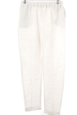 Oysho Linen Pants cream-beige casual look