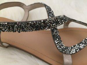 Oysho High-Heeled Sandals multicolored