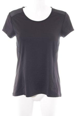 Oysho Sportshirt schwarz sportlicher Stil