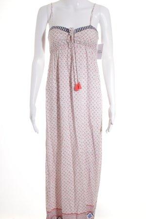 Oysho Trägerkleid abstraktes Muster Romantik-Look