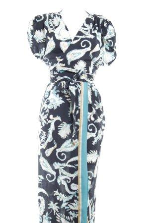 Oysho Vestido cruzado estampado floral elegante