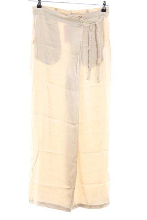P.A.R.O.S.H. High Waist Trousers cream casual look