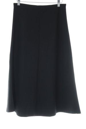 P.A.R.O.S.H. Falda midi negro elegante