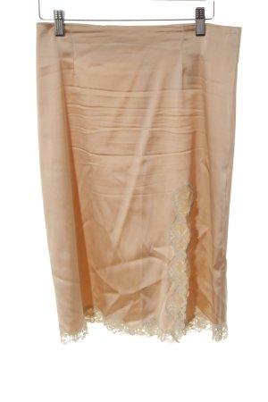 P.A.R.O.S.H. Lace Skirt dusky pink elegant