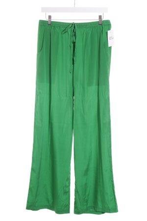 P.A.R.O.S.H. Stoffhose grün schlichter Stil