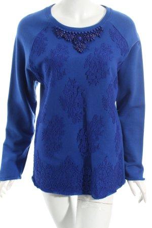 P.A.R.O.S.H. Sweatshirt blau Elegant