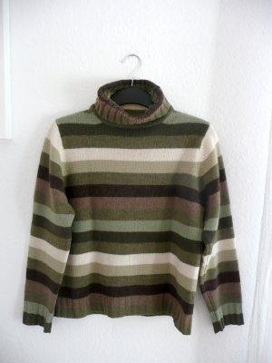Brookshire Turtleneck Sweater multicolored wool
