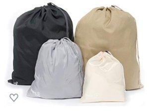 Packbeutel Backpacking Reisetasche Reisebeutel schwarz NEU