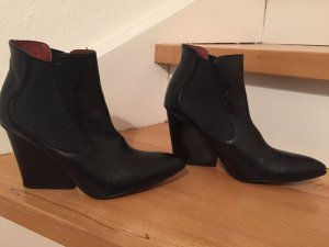 Paco Gil Chelsea Boots Wedges Keilabsatz Leder