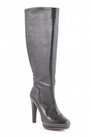 Paco Gil High Heel Stiefel schwarz-creme Elegant