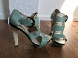 Paco Gil Strapped pumps mint-oatmeal