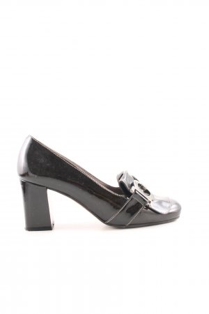 Paco Gil High-Front Pumps black business style