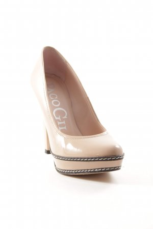 Paco Gil Plateau-Pumps nude Nude-Look