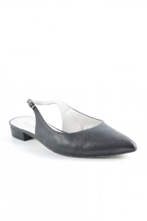Paco Gil Slingback Ballerinas schwarz Business-Look