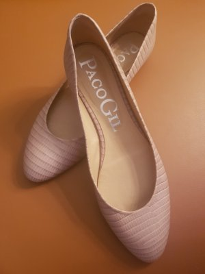 Paco Gil Ballerinas cream-oatmeal leather