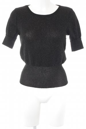 Paco rabanne Knitted Jumper black casual look
