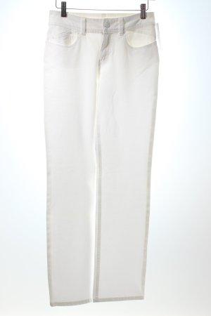 Paddock's Five-Pocket-Hose weiß Casual-Look