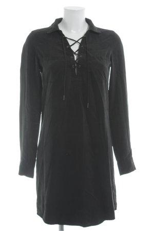 Paige Blusenkleid schwarz Casual-Look