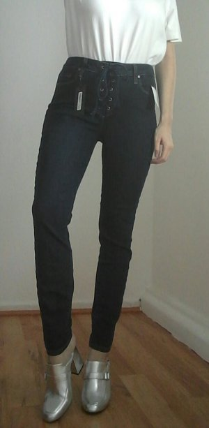 PAIGE Designer High Rise Ankle Skinny Jeans Streetstyle USA