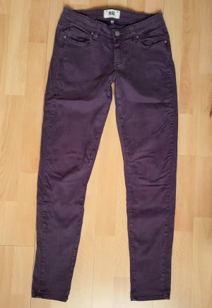 Paige Designer Jeans Verdugo ultra skinny W27 Bordeaux Rot