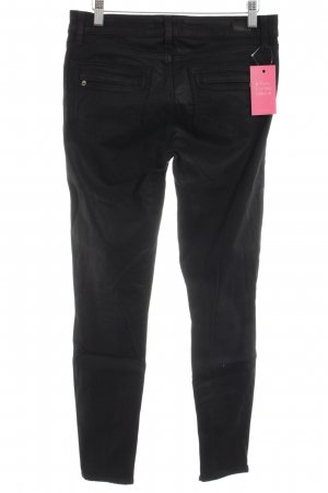 Paige High-Waist Hose schwarz Casual-Look