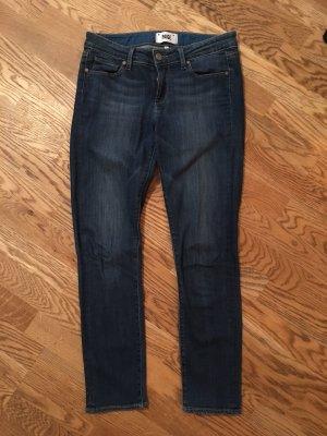 Paige Jeans 3/4 bleu foncé-bleu