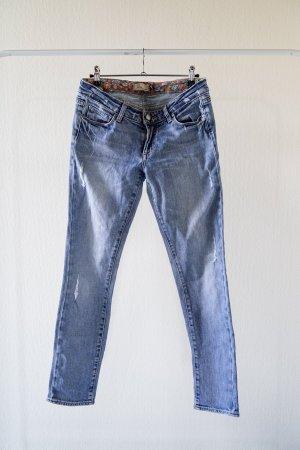 PAIGE Jeans – Skyline Ankle Peg– Größe 27– mit leichtem Used–Look