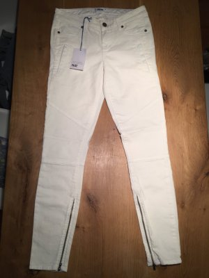 Paige Jeans W 27 Weiss Biker Style Skinny Jeans Hose