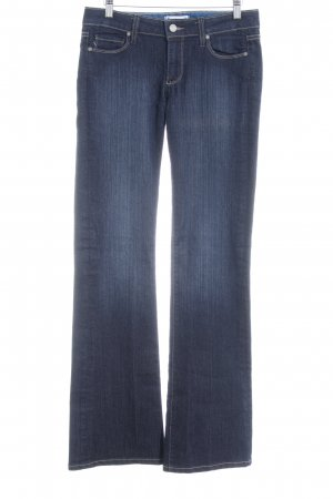 Paige Jeansschlaghose blau Casual-Look