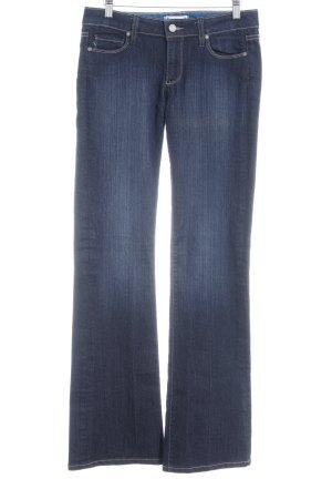 Paige Jeans a zampa d'elefante blu stile casual