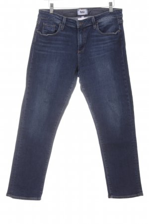 Paige Carrot Jeans dark blue business style