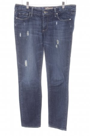 Paige Carrot Jeans dark blue casual look