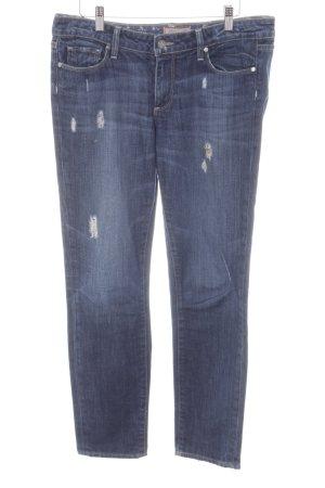 Paige Jeans carotte bleu foncé style décontracté