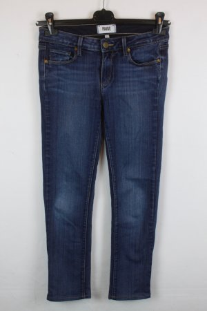 Paige Low Rise Straight Leg Jeans Gr. 27 blue
