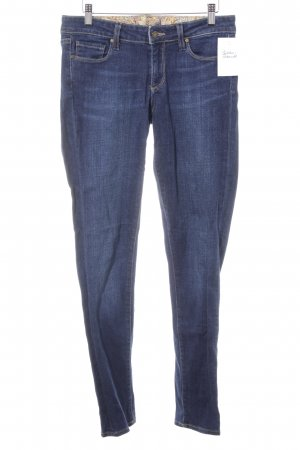 Paige Skinny jeans donkerblauw casual uitstraling