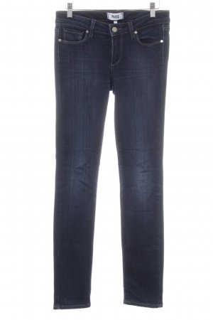Paige Skinny Jeans dunkelblau Jeans-Optik
