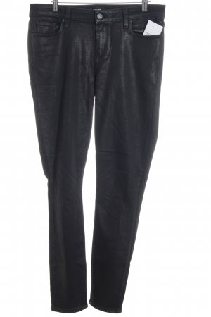 Paige Skinny Jeans schwarz Casual-Look