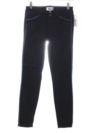 Paige Skinny Jeans schwarz Street-Fashion-Look