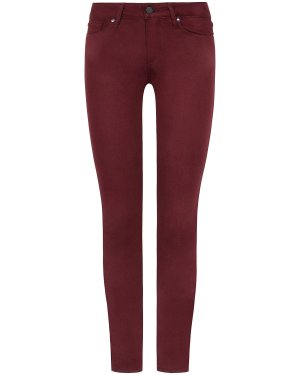 Paige Skinny Jeans Verdugo Ankle bordeaux rot - W 27 - NEU