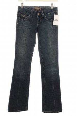 Paige Slim Jeans blau Washed-Optik