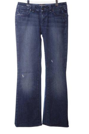 Paige Straight-Leg Jeans blau Casual-Look