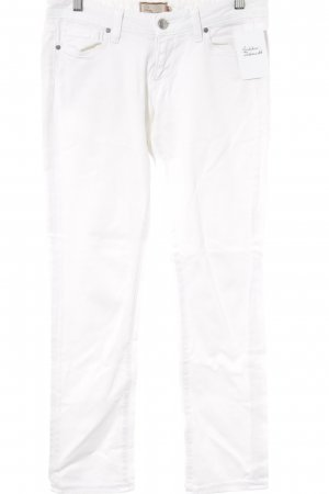 Paige Straight-Leg Jeans weiß Casual-Look