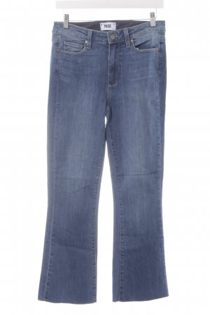 Paige Stretch broek azuur Jeans-look