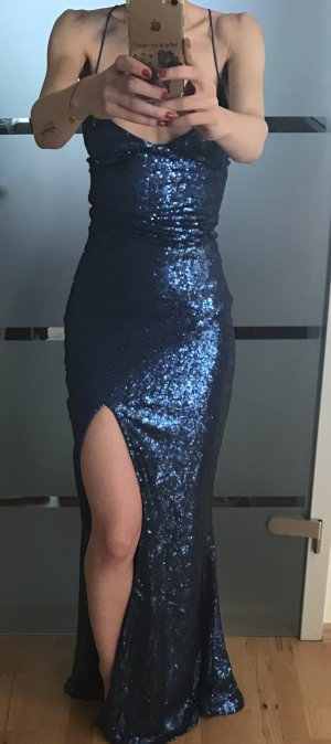 Pailetten Abendkleid im Meerjungfrauenstil von Club L in gr. XS