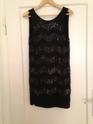Pailetten Kleid von h&m Gr. 36/S 1x getragen