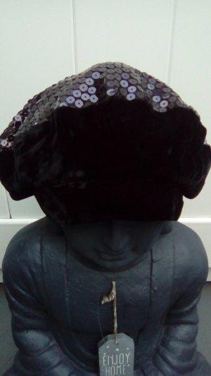 Pailetten-Mütze