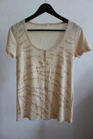 Pailetten verziertes T-Shirt von J.Crew