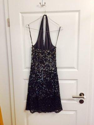 Pailettenbesetztes Neckholder-Kleid