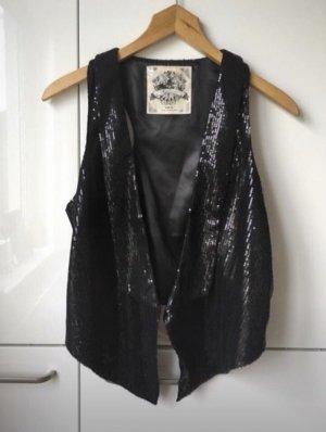 QS by s.Oliver Gilet de costume noir